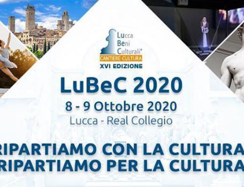 LuBeC 2020: 8-9 ottobre, ripartiamo con la cultura, ripartiamo per la cultura!