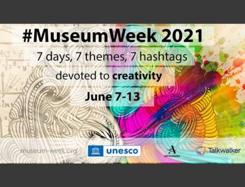 Dal 7 al 13 giugno è #MuseumWeek2021