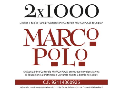 Imago Mundi promuove la donazione del 2 X 1000 all'associazione culturale Marco Polo